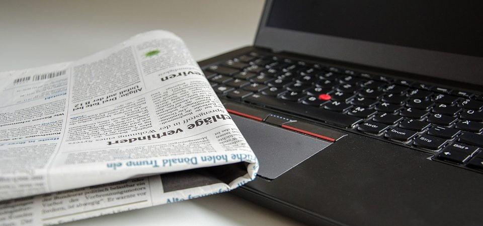 Diseñar un sitio web de noticias