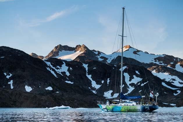 Los núcleos de hielo de Groenlandia muestran el cambio climático