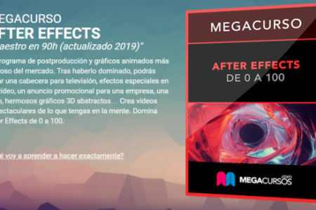 AFTER EFFECTS UN CURSO O UN MEGACURSO DE 90H